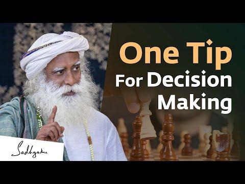 Should you listen to your head or your gut? | Sadhguru
