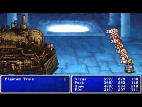 Final Fantasy 1 (PSP)-Phantom Train
