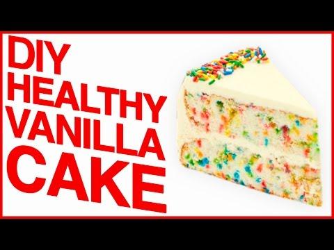 DIY HEALTHY FUNFETTI CAKE?! | Save My Sweet Tooth