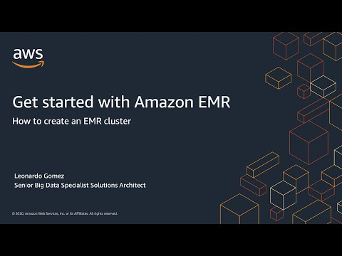Get started with Amazon EMR