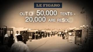 ZAATARI - WORLD'S 2ND LARGEST REFUGEE CAMP - BBC NEWS