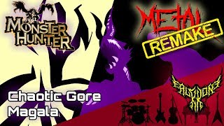 RE: Monster Hunter 4 Ultimate - Chaotic Gore Magala Theme 【Intense Symphonic Metal Cover】