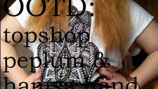 OOTD: ft. Topshop Peplum & Hamsa Hand Thumbnail
