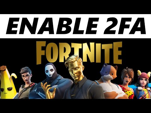 How To Enable 2 Factor Authentication On Fortnite! (2020)
