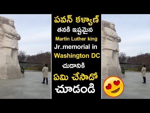 Pawan Kalyan At Martin Luther king Jr..memorial in Washington DC Latest Video || News Book