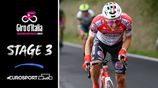 Giro d'Italia 2021 - Stage 3 Highlights | Cycling | Eurosport