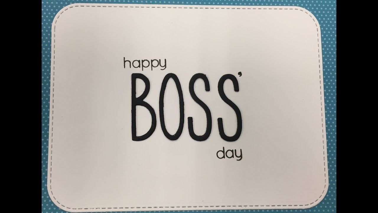 Happy Boss Day Cards Youtube