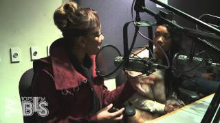 Brandy and Monica stop by Afternoons with Jeff Foxx on 107.5 WBLS FM