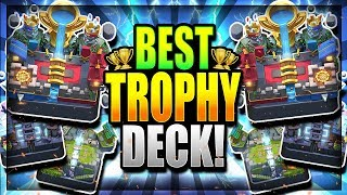 BEST LADDER DECK after NEW UPDATE!! HIGHEST WIN % - Clash Royale Best Trophy Deck - June 2018