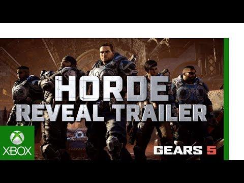 Gears 5 | Gamescom 2019 Horde Modus Trailer