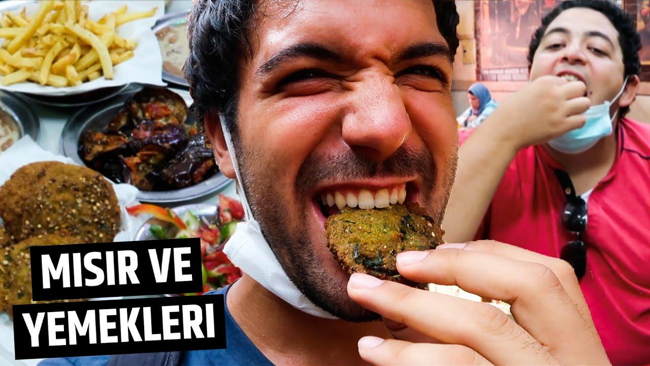 MISIR'daki BÜTÜN Sokak Yemeklerini Yedik (İlk Gün) - Kahire