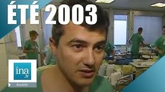 Été 2003 :  la canicule serait à l'origine d'une cinquantaine de décès | Archive INA