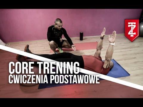 Core trening - ćwiczenia podstawowe: Michał Karmowski i Adrian Hoffman