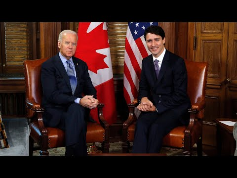 COVID-19, vaccine shortages and pipelines on the agenda when Trudeau talks woth Biden