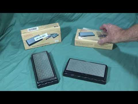 DMD DOUBLE-SIDED DIAMOND WHETSTONE TOOL REVIEW