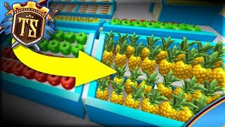 BUILDS A FRUIT MARKET WITH EXOTIC FRUIT! -Ep 2-BETA Store Empire - France Roblox danois