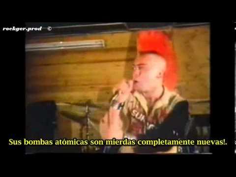 The Exploited Fuck the USA (subtitulado español)