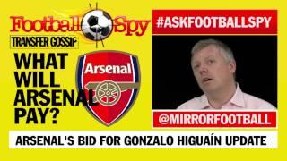 Football Spy: Gonzalo Higuaín Update