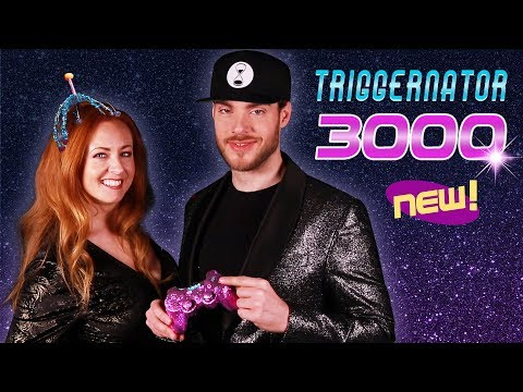 THE TRIGGERNATOR 3000 [Infomercial] ASMR 🌟 feat. Teddy Zeitgeist & Waleska Red