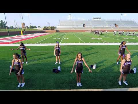 Bonaire Middle School Cheerleaders. BMS vs FMMS