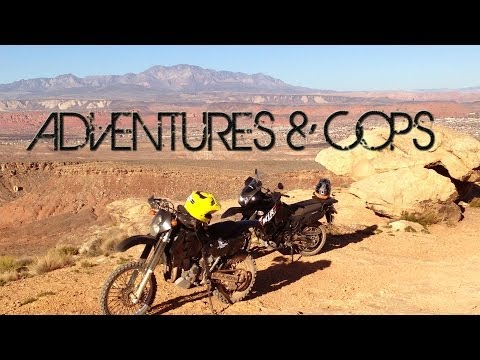 O#o Adventures & Cops - They Deserve A Hero's Thanks - Dual MotoVlog  [mv]{