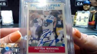 Platinum Premiere Ran Div #28 21 Spots - Peyton Manning, Andrew Wiggins Auto's