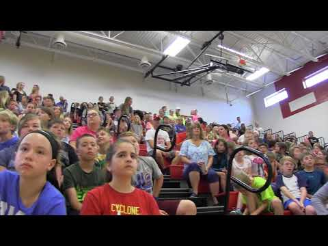 2018 Boone Middle School Awards Assembly 5/30/18