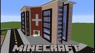 Minecraft Hastane Yapımı