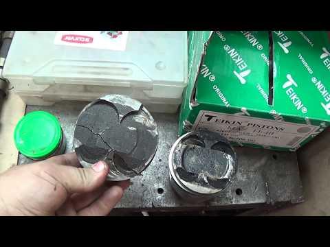 Фото к видео: Теория ДВС - Двигатель FE3N Mazda/KIA обзор/дефектовка