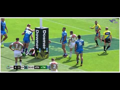 (HD) NRL Auckland Nines 2017 | Titans v Panthers | Game 18 | Game Highlights | Rugby League