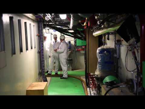 Mighty engine brings HMS Queen Elizabeth to life