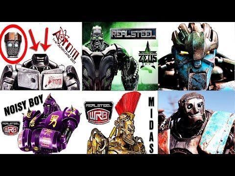 Real Steel PALLADIUS VS ZEUS & ATOM & Midas & AMBUSH & METRO & Noisy Boy & Twin Cities