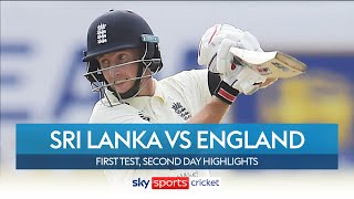 Root & Lawrence shine as England dominate Sri Lanka | Sri Lanka vs England | 1st Test, Day Two
