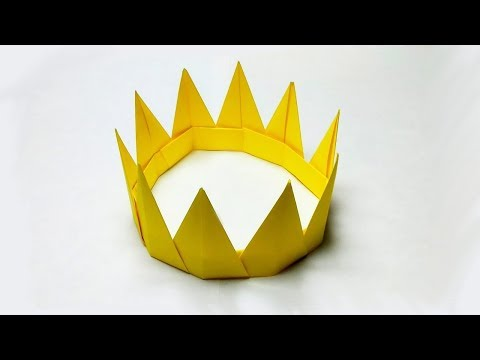 How to make a paper crown for a princess | DIY craft