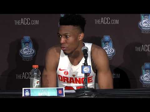 Press Conference   Syracuse vs. Wake Forest   ACC Tournament