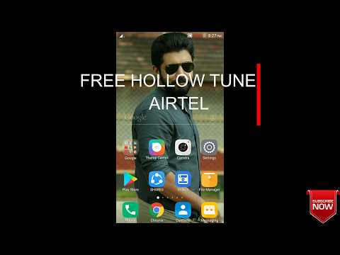 How to set free caller tune in airtel