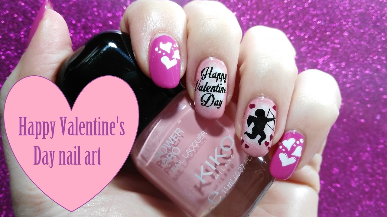 picture Happy Valentines Day Nails to Win His Heart