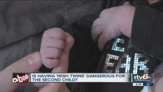 Data shows second baby in set of