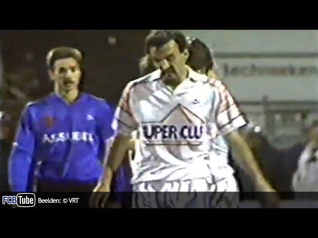 1991-1992 - Jupiler Pro League - 13. Antwerp FC - Club Brugge 2-1