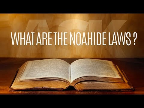 What are the Noahide Laws?
