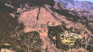 2015年1月11日、「釜伏山」山行動画その1(男体山ほか展望)
