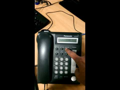 Changing PBX IP on Panasonic KX-NT321