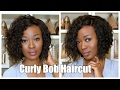 How To Cut A Curly Bob - Every Day Summer Hair - EVA Wigs Protective Style