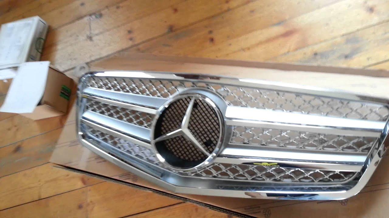 Mercedes w210 tuning 2 tuning cars - Grila Tuning Mercedes W212 W211 W210 W220 Www Motorvip Ro 0748405954 Youtube