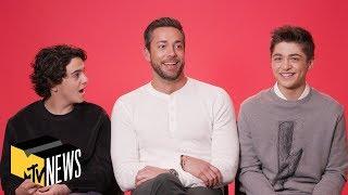 'Shazam!' Cast Make Up Their Own Ridiculous Superhero Catchphrases & More   MTV News