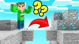 Download Playing MINECRAFT Without JUMPING! (We Found DIAMOND) Mp3 and Videos