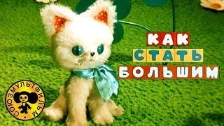 Как стать большим | Советские мультфильмы для малышей(Советский мультфильм для малышей - Как стать большим. Мультики про котят и кошек. Поучительный мультик о..., 2015-02-17T15:00:06.000Z)
