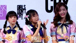BNK48 รุ่น 2 เปิดมินิคอนเสิร์ตงานเปิดตัวภาพยนตร์  GIRLS DON'T CRY