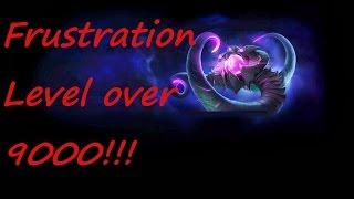 Most Frustrating Quadra Kill Fail Ever!!! - League Of Legends - No Commentary