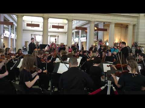 Jennings County High School (IN) String Ensemble Performance - 2016